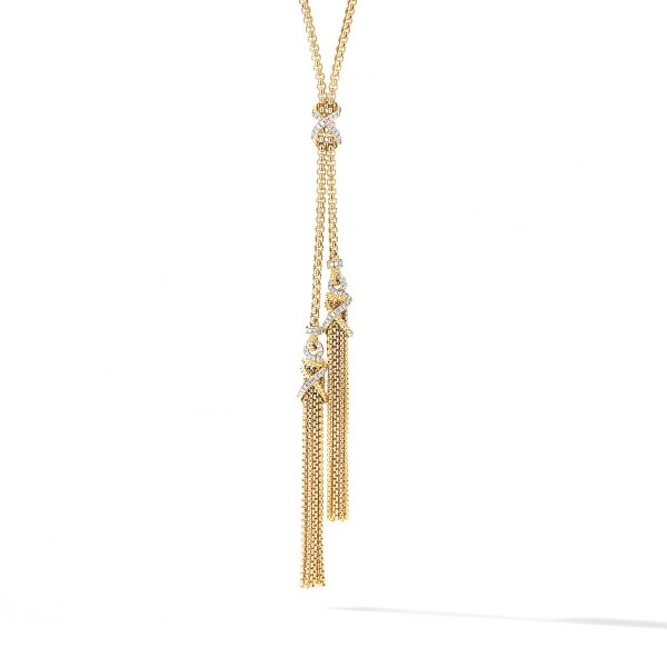 David Yurman Helena Tassel Necklace