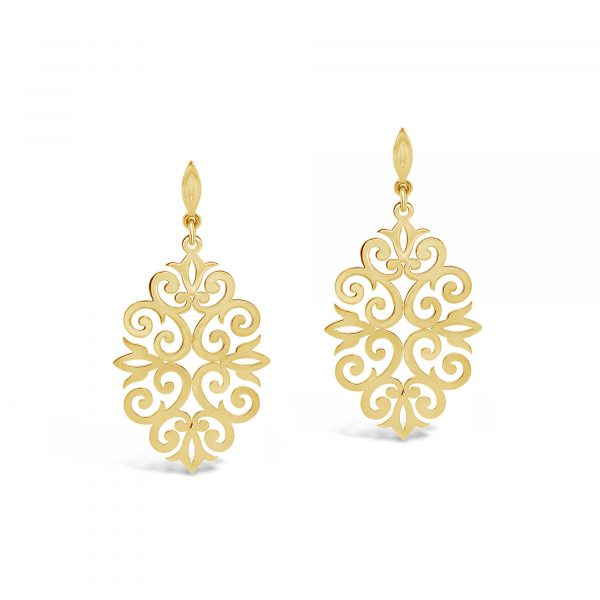 Adorn Collection Filigree Earrings