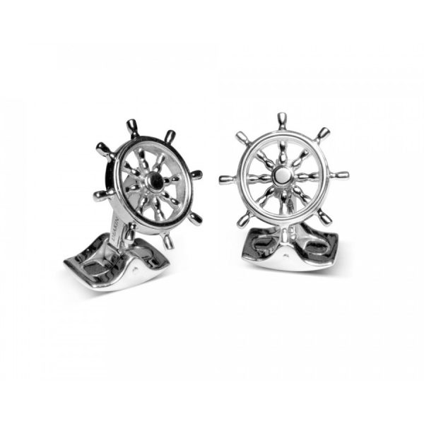 Deakin & Francis Ship Wheel Cufflinks