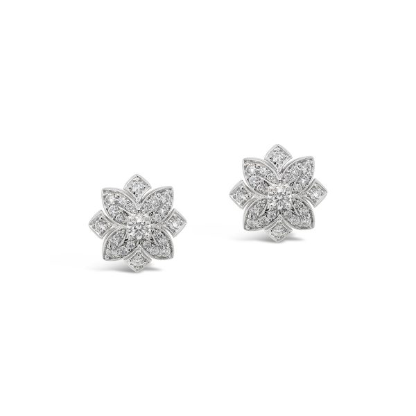 Deco Diamond Studs