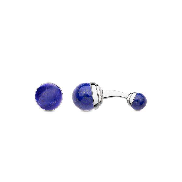 Barbarulo Napoli lapis lazuli ball cufflinks