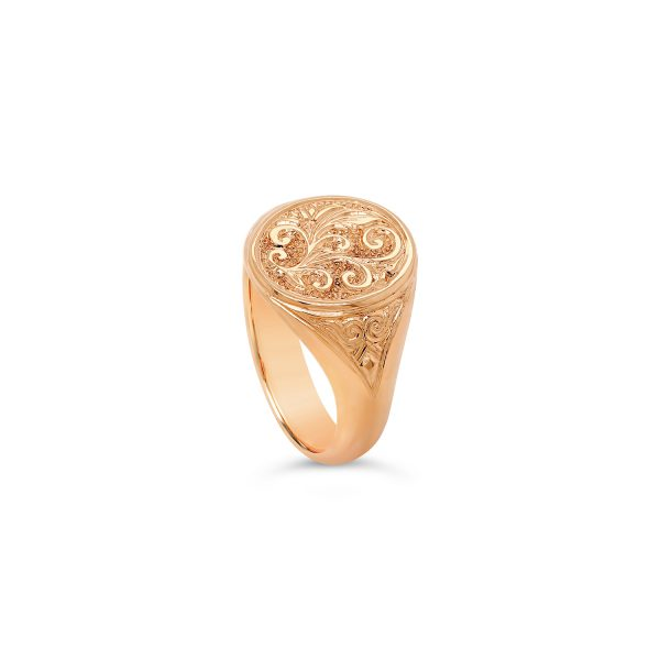 Classic Oval Signet Ring