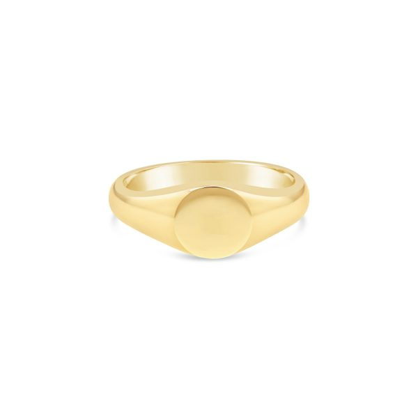 Classic Small Signet Ring